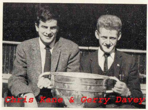 Chris and Gerry with Sam 1963